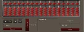 Virtual Abacus which will help students